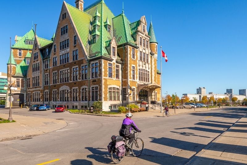 bike tours in Quebec City