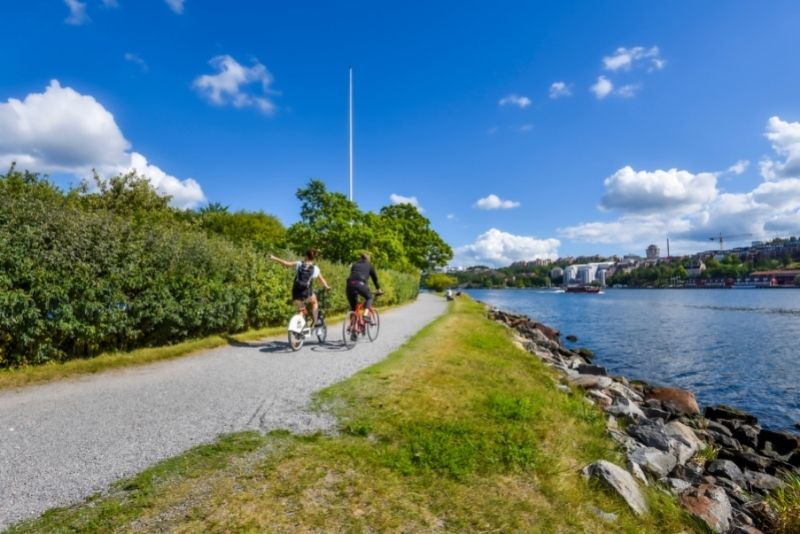 tour in bicicletta a Stoccolma
