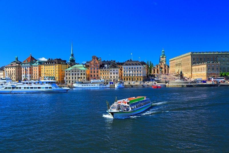 gite in barca, Stoccolma