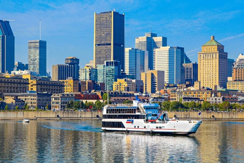 boat tours in Montreal