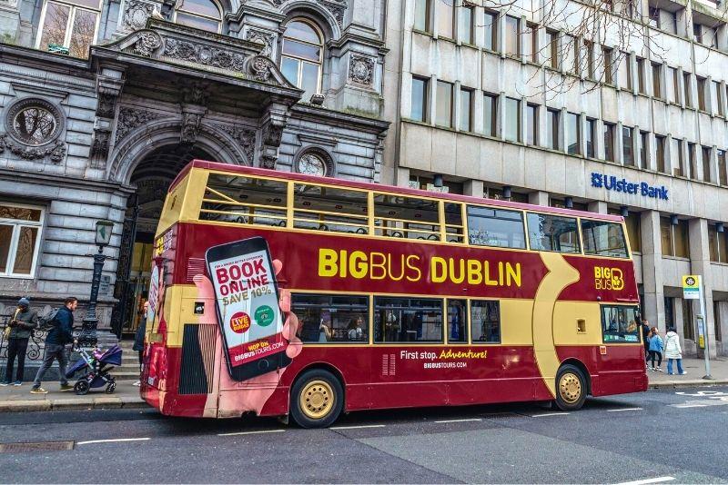 Bustour in Dublin