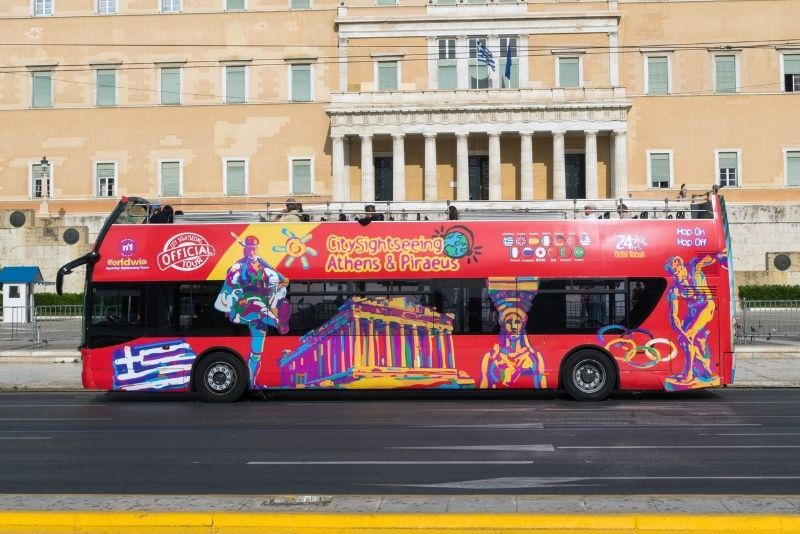 bus tours in Athens