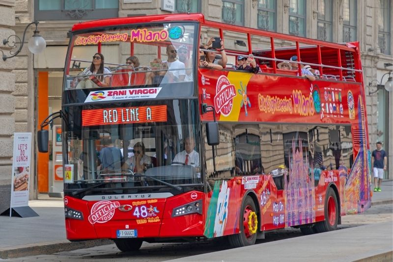 Busreisen in Mailand
