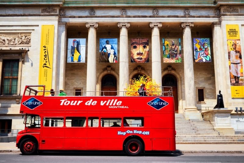 bus tours in Montreal