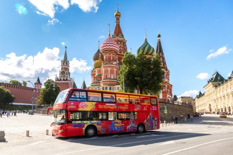 bus tours in Moscow