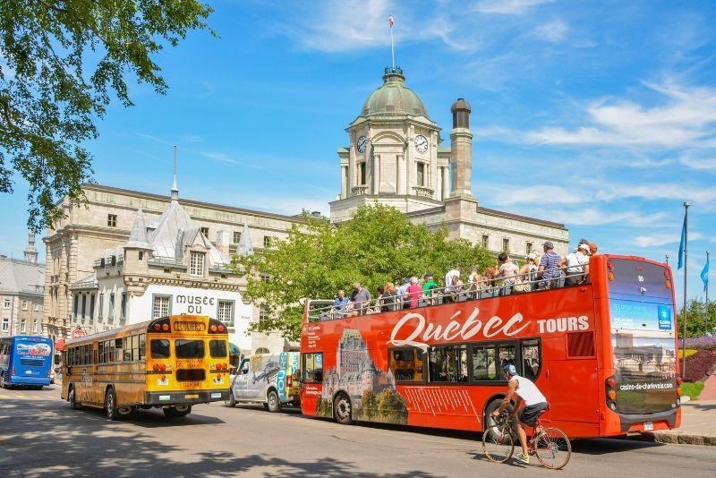 bus tours in Quebec City