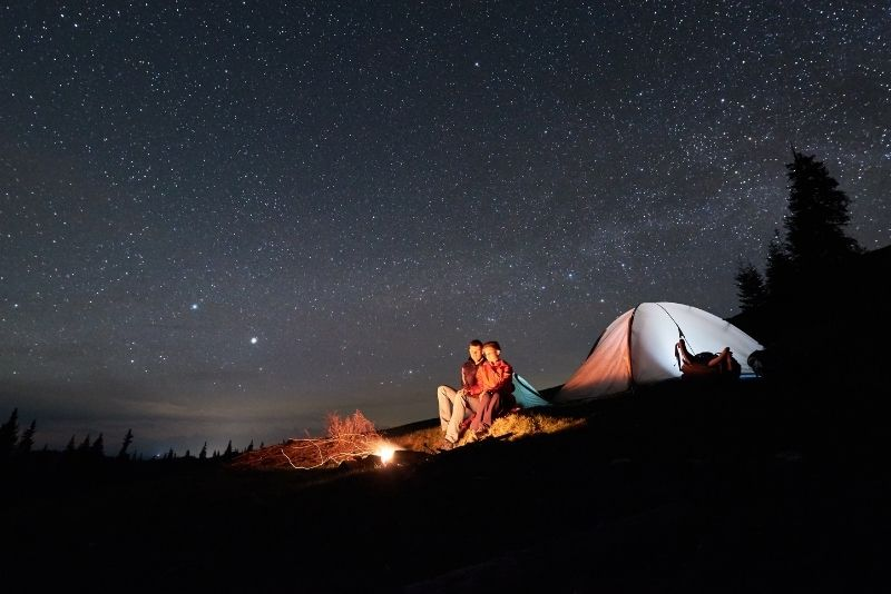 camping in Jackson Hole
