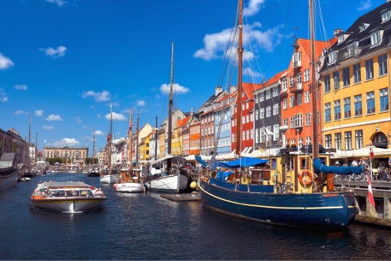 Kanalrundfahrt durch Nyhavn, Kopenhagen