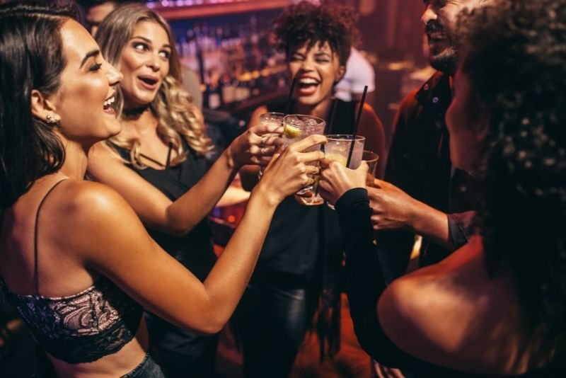 clubbing in Sarasota