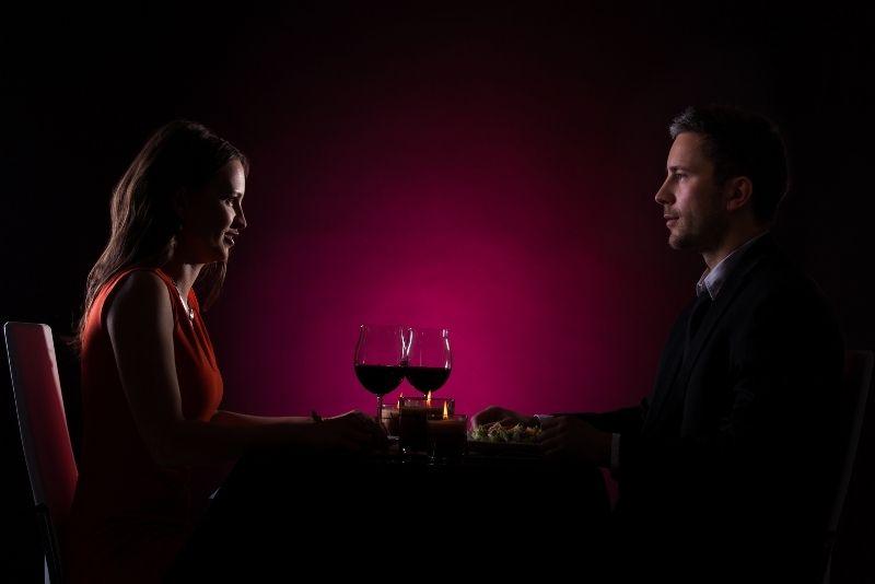 dining in the dark in Las Vegas
