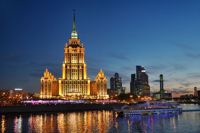 dinner cruises in Moscow