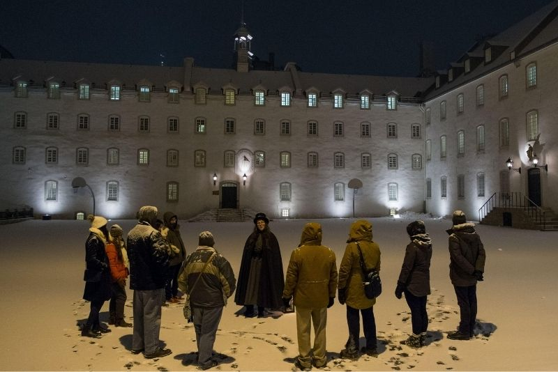 ghosts & crimes tours in Quebec City