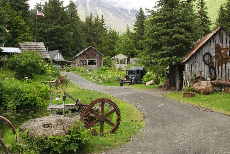 gold mine tour, Anchorage