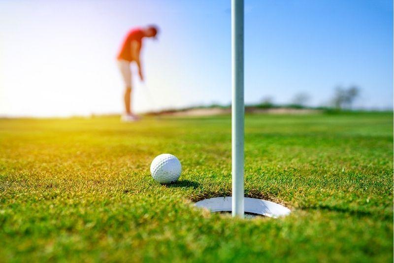 golf in Aruba
