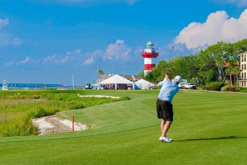 golf in Hilton Head Island, South Carolina