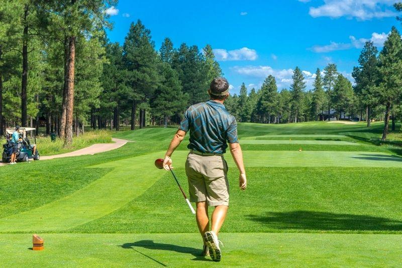 golfing in Charlotte