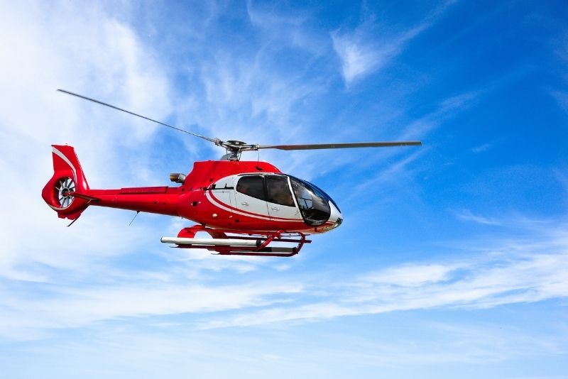 helicopter tours in Montreal