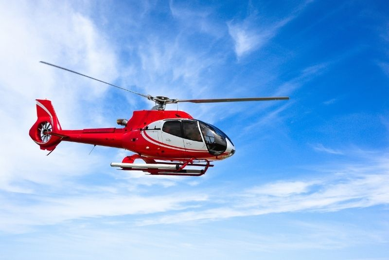 helicopter tours in Quebec City