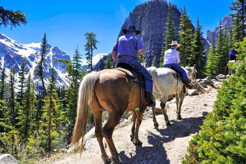 horse riding in Jackson Hole