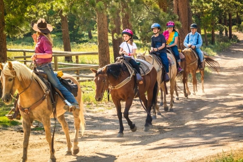 horse riding in Kissimmee