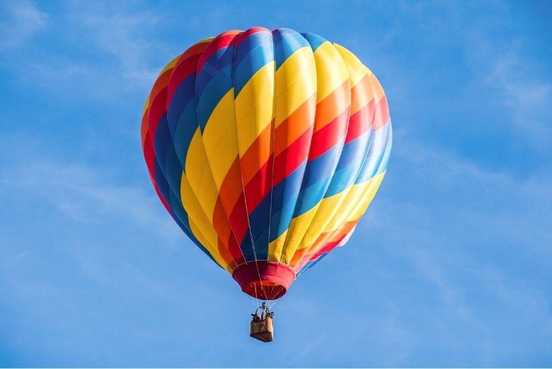 Heißluftballonfahrt in Mailand
