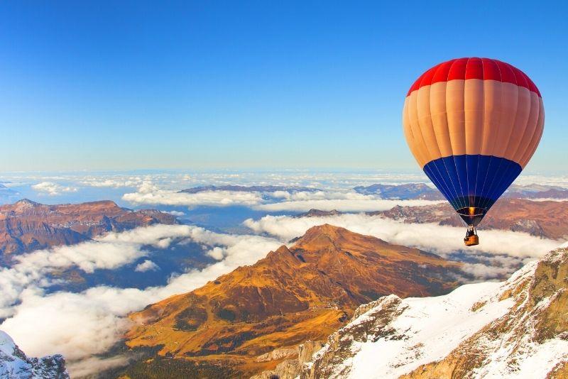 hot air balloon rides in Zurich