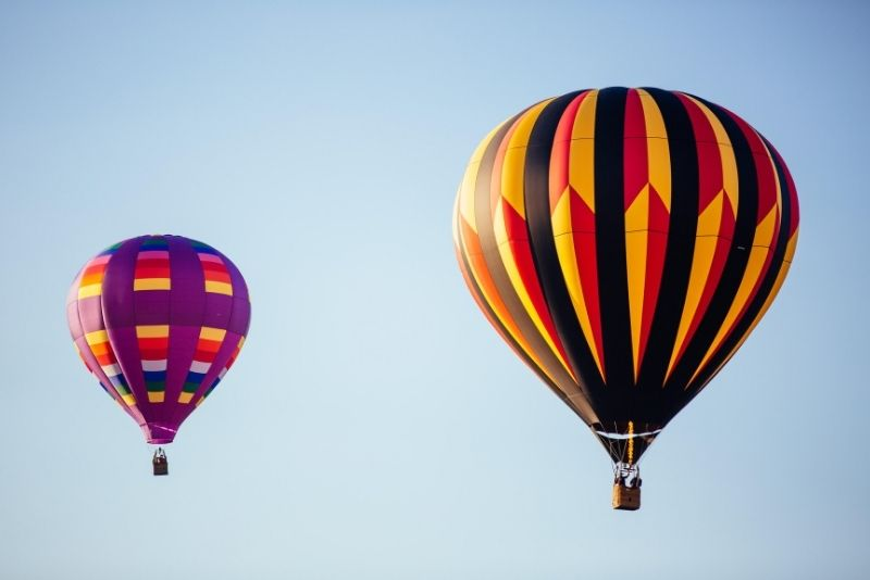 hot air balloon rides near Baltimore