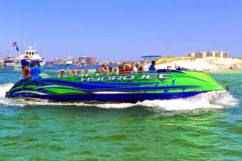 jet boat tour in Destin
