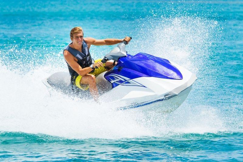 jet ski tour in Aruba