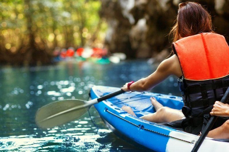kayak tours in Sarasota