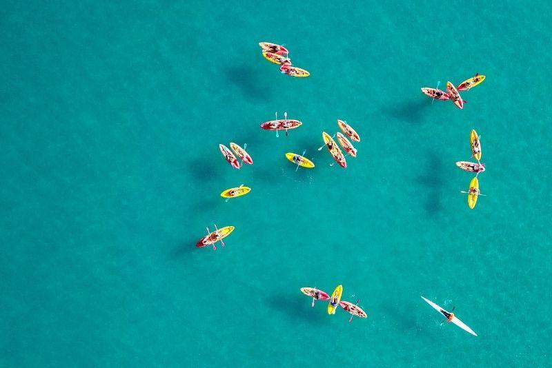 kayaking in Athens