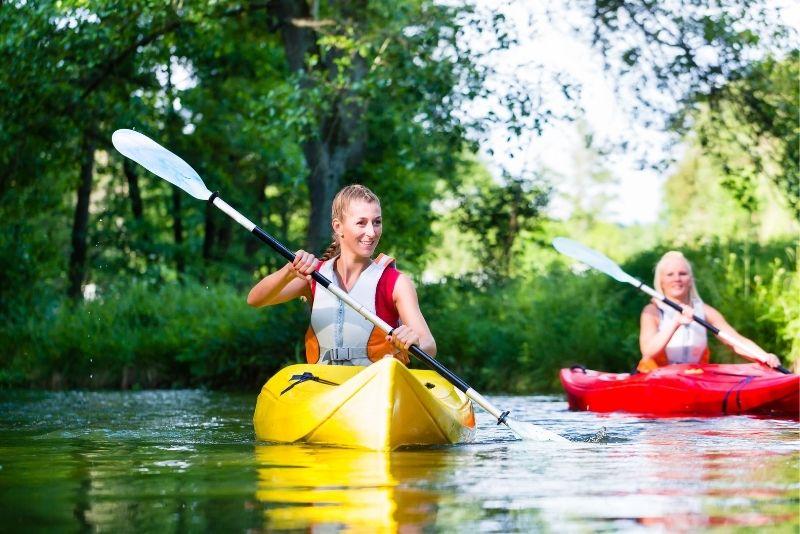 kayaking in Jacksonville