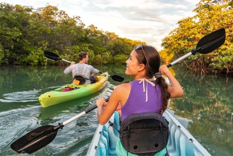 kayaking in St Thomas