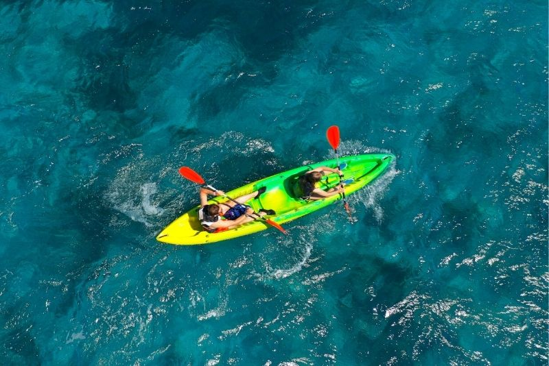 kayaking near Las Vegas