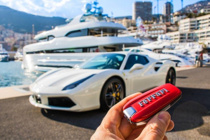 Luxusfahren in Monaco