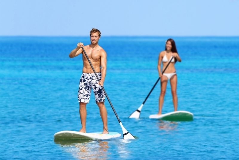 paddleboarding in Athens