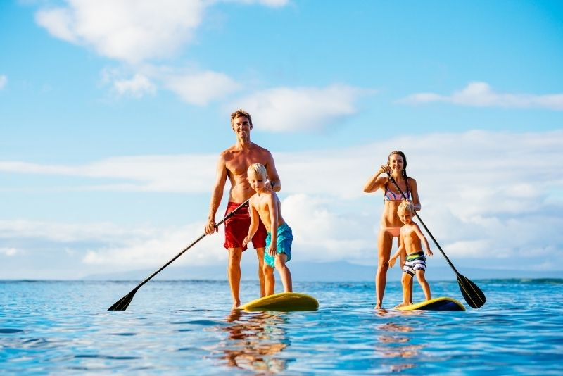paddleboarding in Sarasota