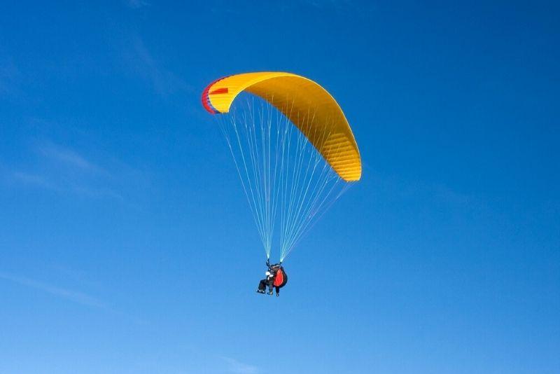 paragliding in Munich