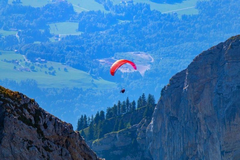 paragliding in Zurich
