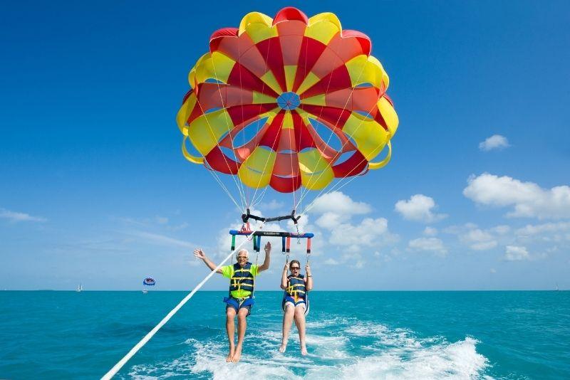 parasailing in Hilton Head Island
