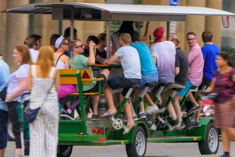 pedal pub in Palm Springs