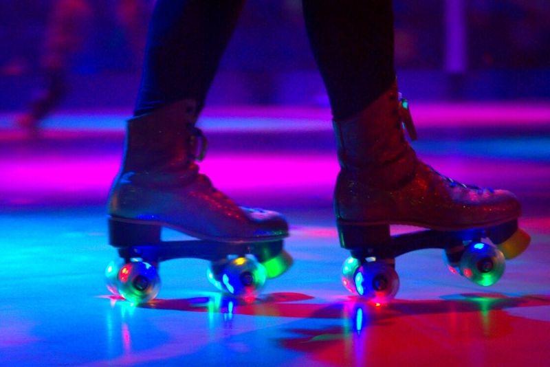 roller skating in Las Vegas