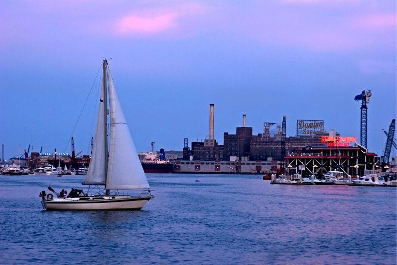 sailing in Baltimore