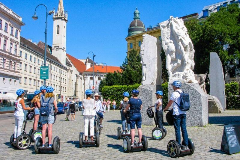tour in segway a Vienna