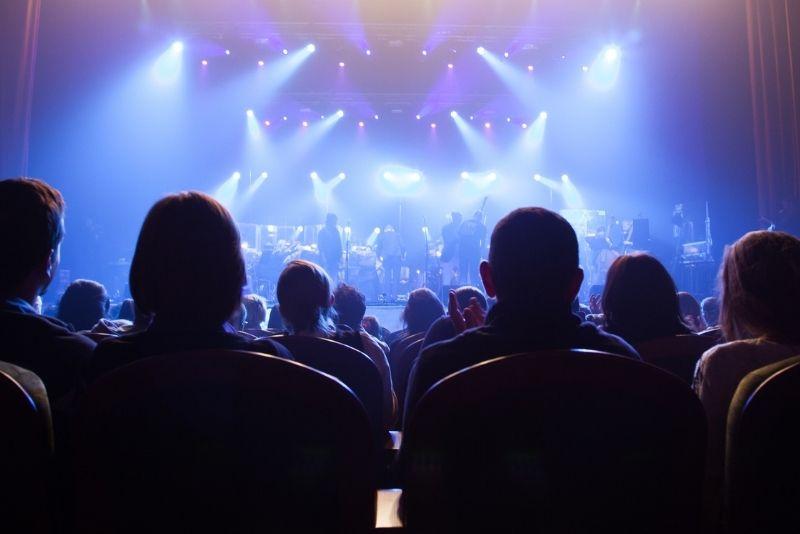 show at the Visulite Theatre