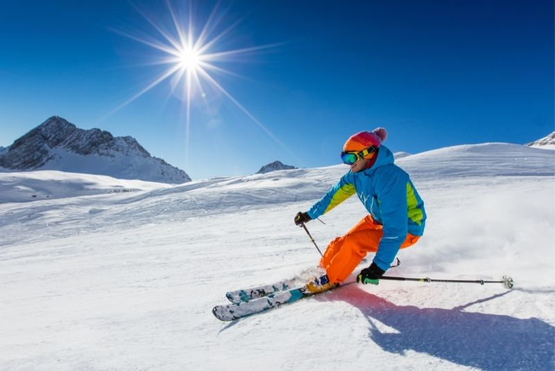 ski in Anchorage