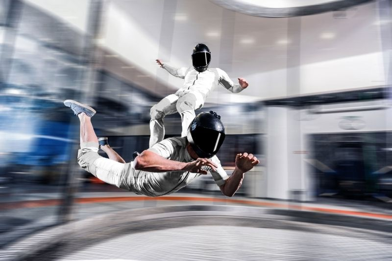skydiving at iFLY Charlotte