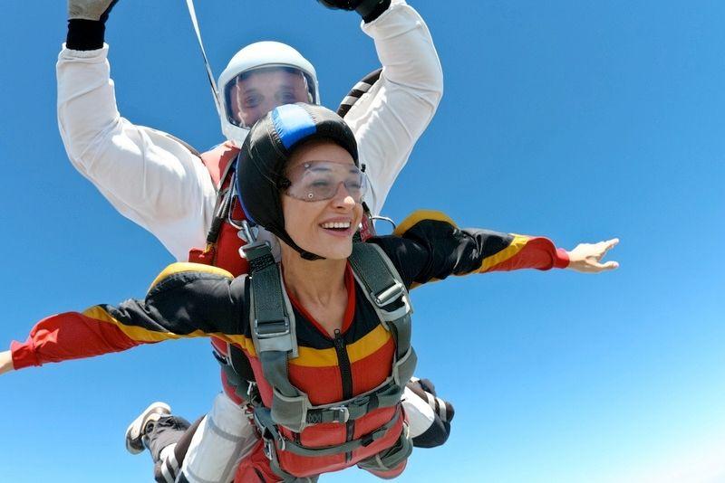 skydiving in Jacksonville