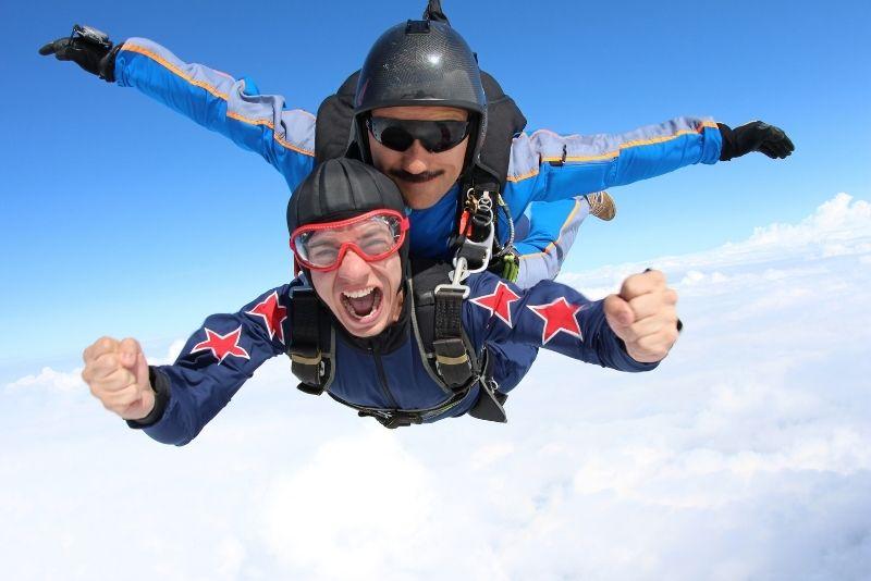 skydiving in Panama City Beach