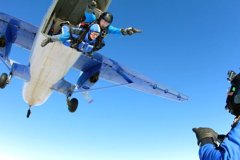 skydiving in Sarasota